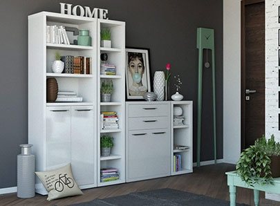 meubles de rangement pas cher. Black Bedroom Furniture Sets. Home Design Ideas