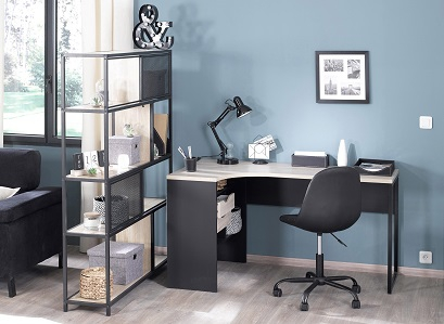 bureau rangement chaise et fauteuil de bureau pour cr er son coin bureau. Black Bedroom Furniture Sets. Home Design Ideas