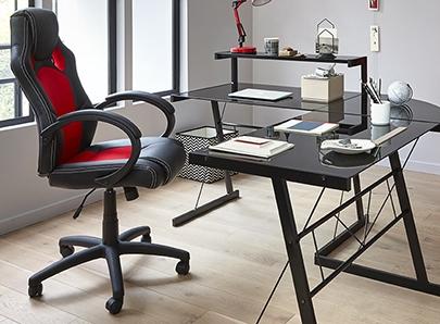 SOLDES ! Bureau, rangement, chaise et fauteuil de bureau pour créer ...
