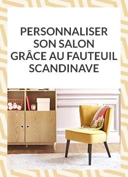 Personnaliser son salon grace au fauteuil scandinave