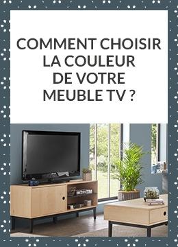 Comment choisir la couleur de votre Meuble TV