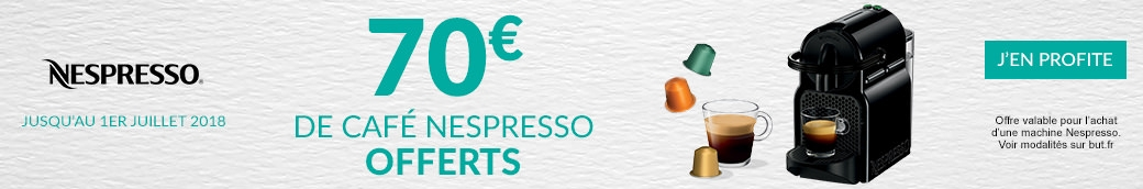 Nespresso Cafe offerts