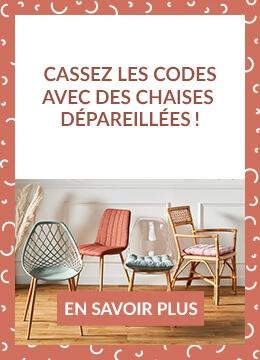Cassez les codes avec des chaises dépareillées !