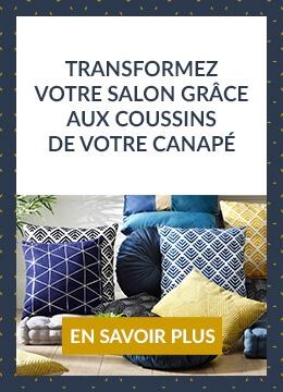 Transformez votre salon grâce aux coussins de votre canapé