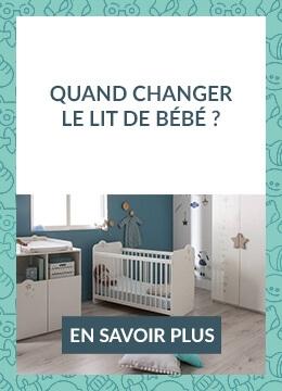 Quand changer le lit de bébé ?