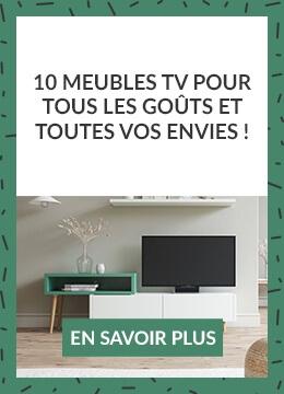 10 meubles TV pour tous les goûts et toutes vos envies !