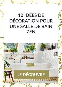 10 idées de décoration pour une salle de bain zen