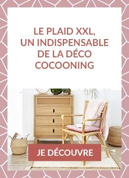 Le plaid XXL, un indispensable de la déco cocooning