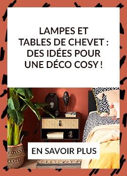Lampes et tables de chevet : des idées pour une déco cosy !