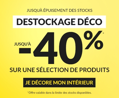 Destockage déco