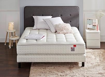 literie pas cher. Black Bedroom Furniture Sets. Home Design Ideas