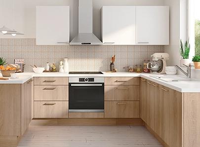 Achat Cuisine En Kit Meubleset Idées Déco BUTfr - Meuble d angle haut cuisine pour idees de deco de cuisine