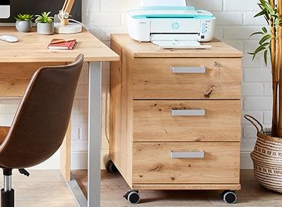 Bureau rangement chaise et fauteuil de bureau pour créer