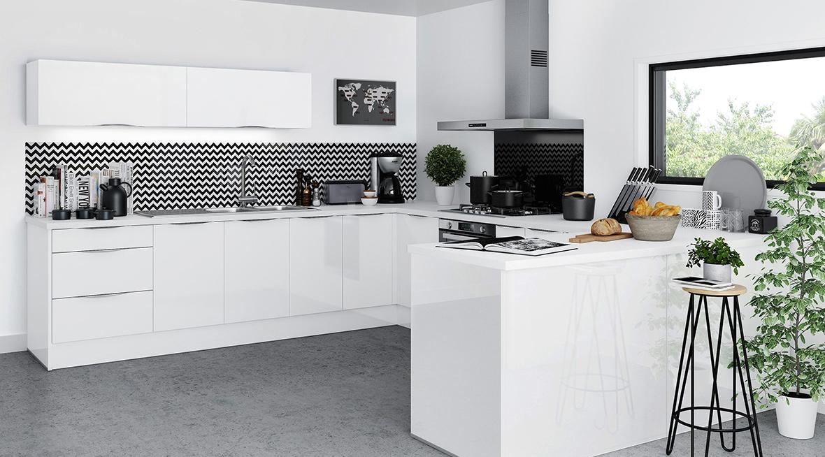 Inspiration Cuisine Moderne équipée Avec Bar Ou Ilot