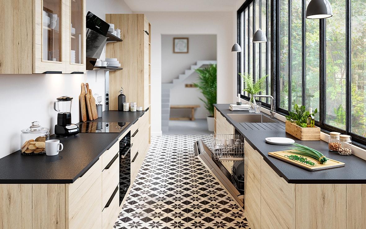 cuisines sur mesure signature but. Black Bedroom Furniture Sets. Home Design Ideas