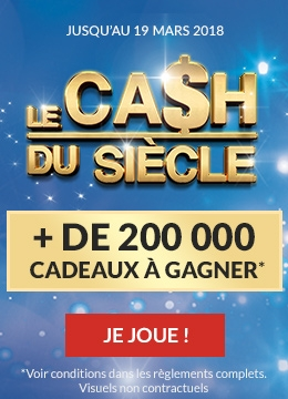 Jeux Le Cash du Siecle