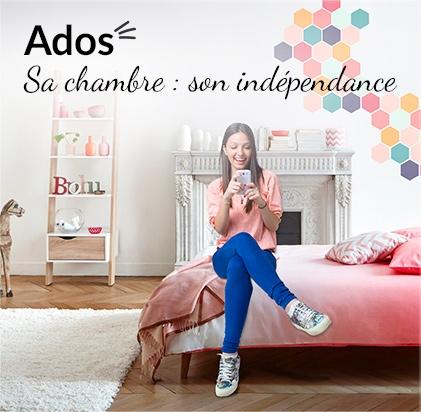 Ados - Sa chambre : son indépendance