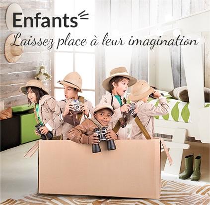 Enfants - Laissez place à leur imagination