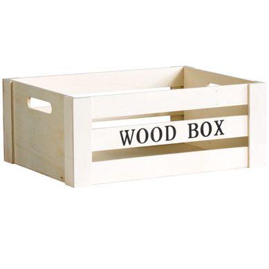 WOOD BOX  Naturel
