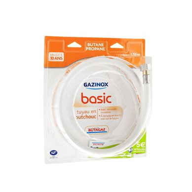 GAZINOX  Basic BP 1,5m caoutchouc