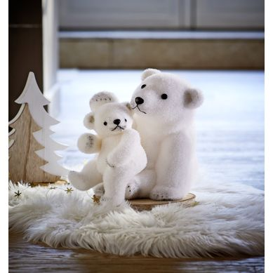 OURS ET BEBE OURS  Blanc