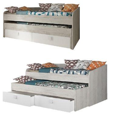 achat lit gigogne pas cher retrait gratuit ou livraison. Black Bedroom Furniture Sets. Home Design Ideas