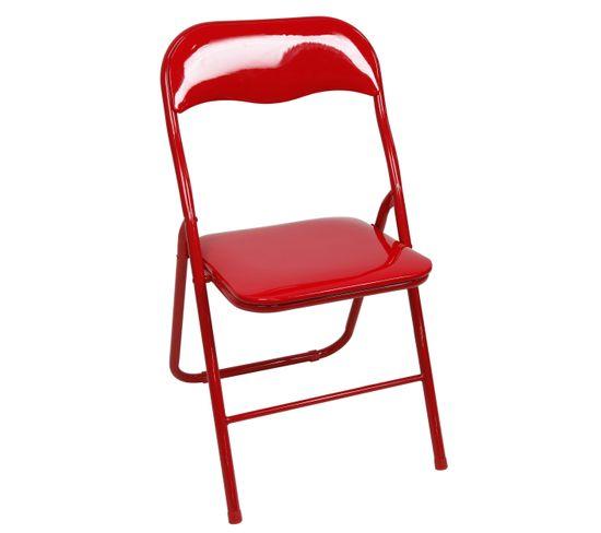 Chaise Pliante Chaise Gloss Pliante But Gloss But Rouge Chaise Rouge 8n0wXOPk