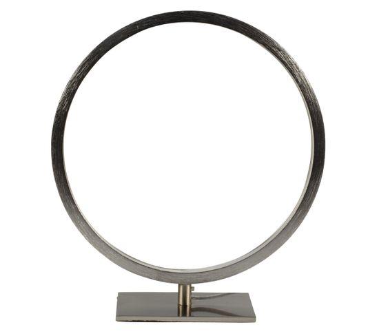 Lampe à poser CIRCLE LED 2 Nickel
