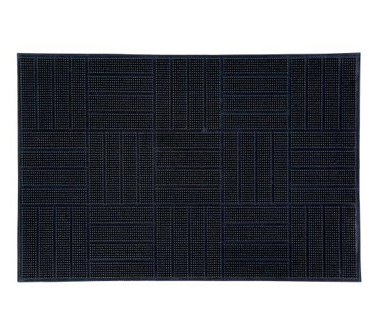 Paillasson caoutchouc 40x60 FIRST Noir