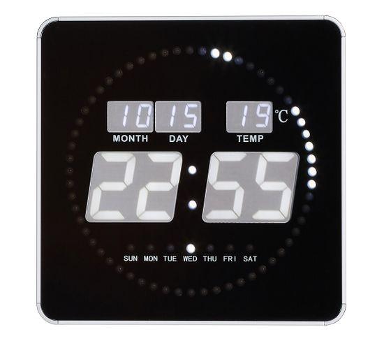 Horloge LED DIGITALE Blanc