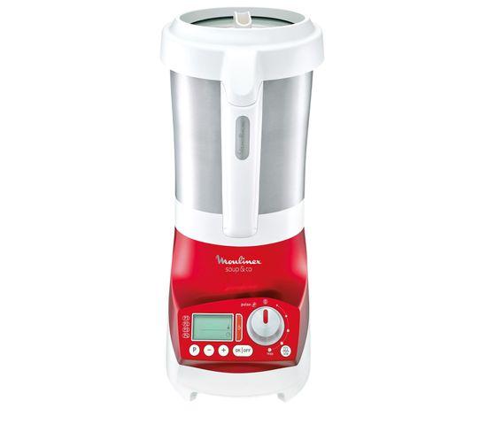 Blender chauffant MOULINEX LM909510 Soup&Co rouge