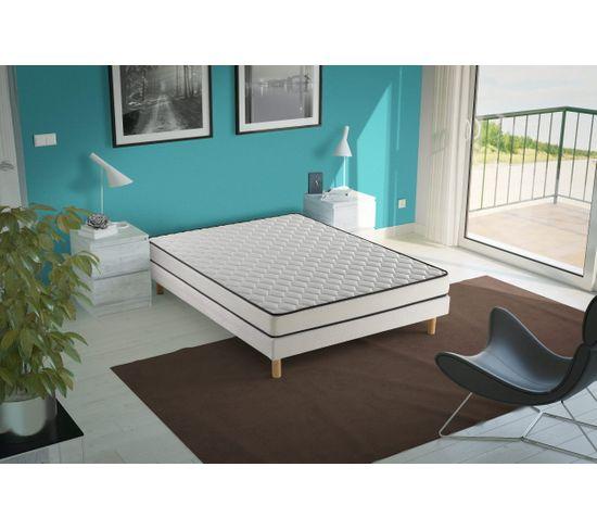 Sommier tapissier NERION 140x190 cm