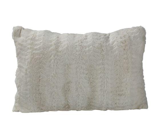 Coussin 40x60 cm SIBERIE blanc
