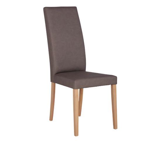 Chaise AGATHE Taupe