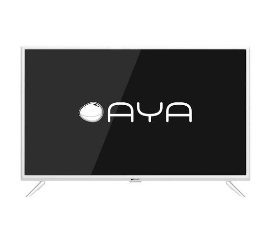 """Téléviseur HD 24'"""", 60 cm AYA A24HD0619W Blanc"""