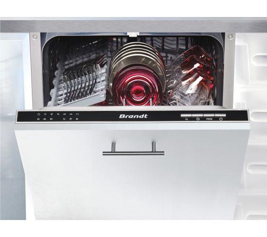 Lave-vaisselle intégrable BRANDT VS1010J Silence