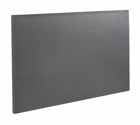 Tête de lit PU gris 160 cm EPEDA RELAX