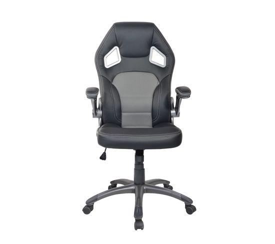 Fauteuil de bureau Carbon Noir et gris