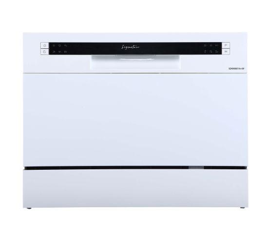 Lave-vaisselle gain de place SIGNATURE SDW6001A+ Blanc