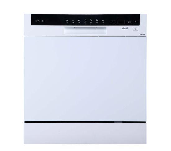 Lave-vaisselle gain de place SIGNATURE SDW8001A+W Blanc