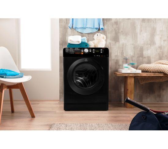 Lave linge hublot séchant INDESIT XWDE751680XKFR Push&Wash