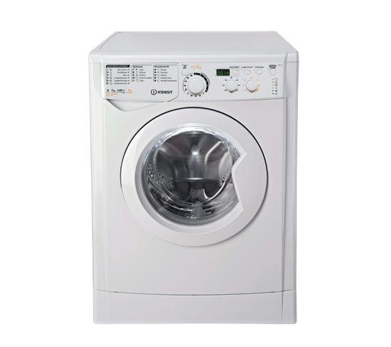 Lave-linge hublot séchant INDESIT EWDD7145W FR Blanc