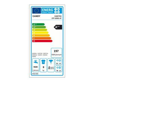 Lave Linge Top Candy Cstg282l 47 Smart Touch