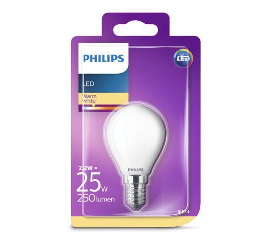 2w Led Ampoule K8nopn0wx E14 25w 250 Équiv Blanc Chaud Lm But 2 IWD2EH9