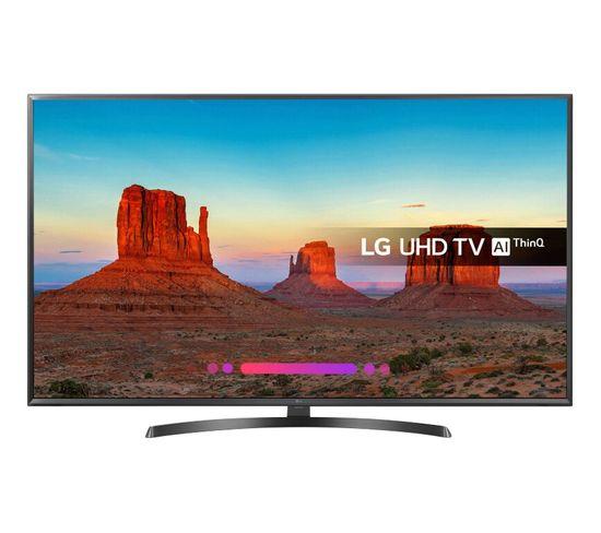 Téléviseur 4K 50'' 126 cm LG 50UK6470 LED Noir