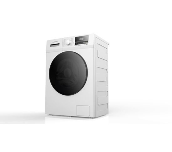 Lave linge hublot DAEWOO DWD-8T1228A Blanc