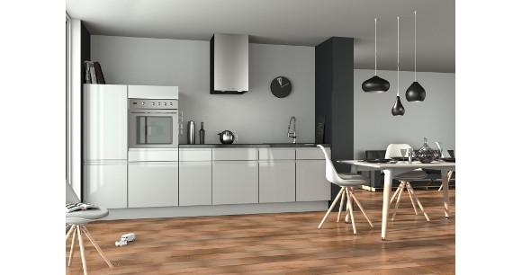 Cuisine Sans Poignée les cuisines aménagées sans poignée pour un design aux lignes pures.