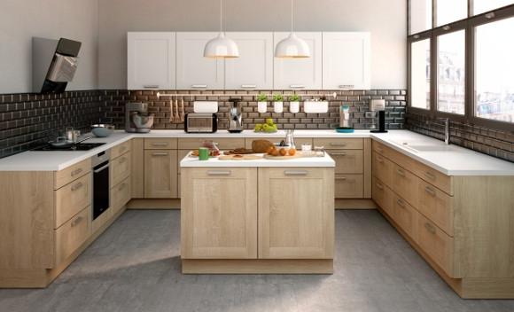 tendance des cuisines aux fa231ades en bois clairs et bois